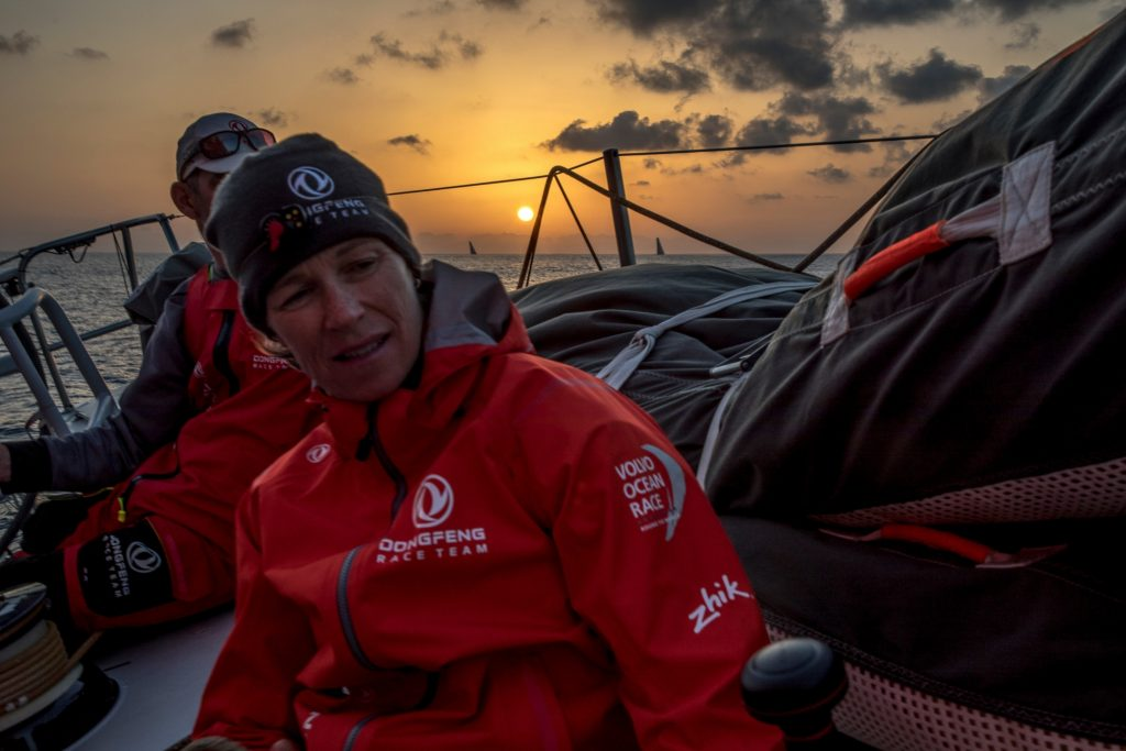 Carolijn Brouwer about United 4 Sailing in the Europe Class